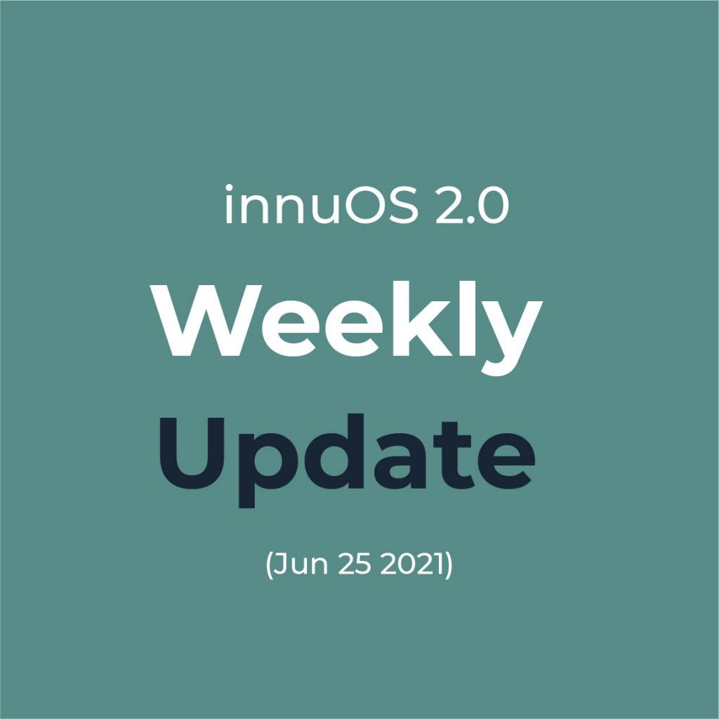Weekly Update 25th June 2021