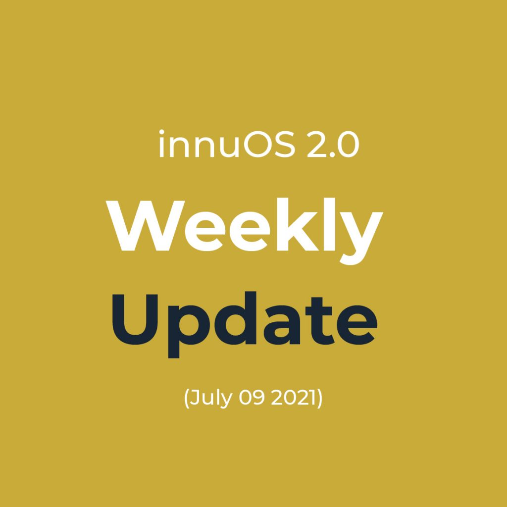 Weekly Update 9th July