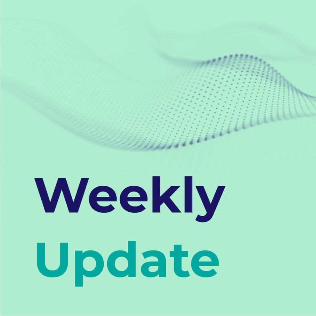 Weekly Update 15th Sep 2021