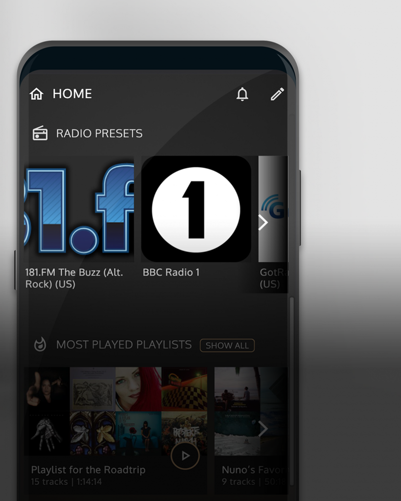 Seamless across local, streaming and internet radio
